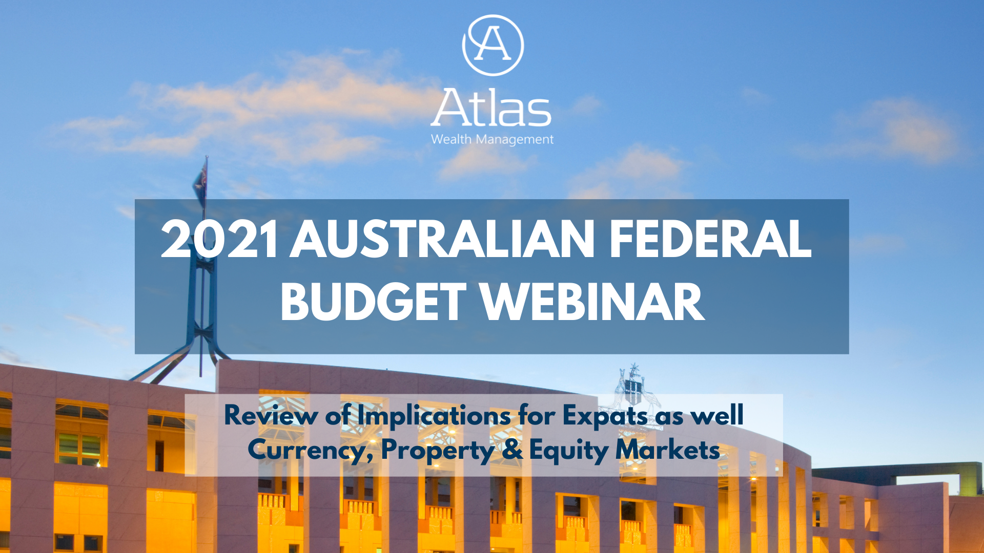 Australian budget webinar expat