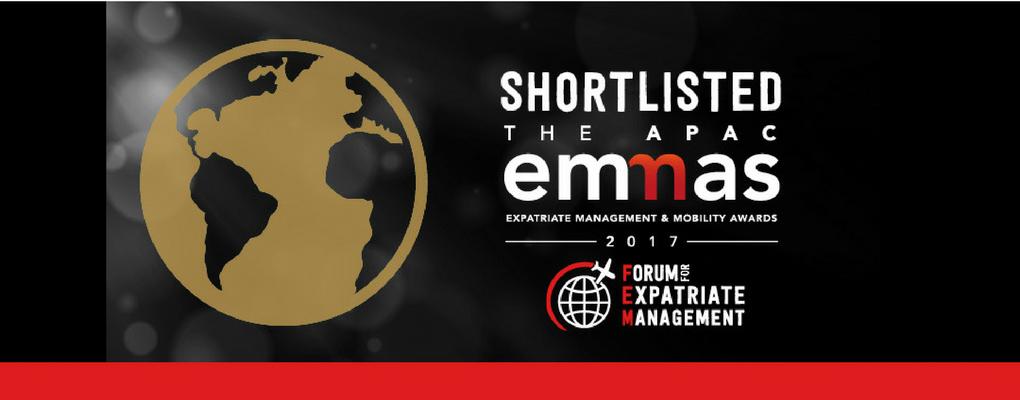 FEM APAC EMMAs Awards Finalist 2017